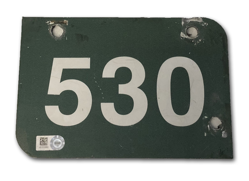 Photo of Wrigley Field Collection -- Aisle Marker 530 -- Removed after 2018 Season