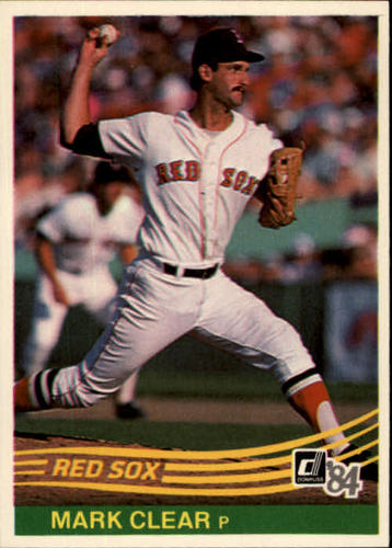 Photo of 1984 Donruss #611 Mark Clear