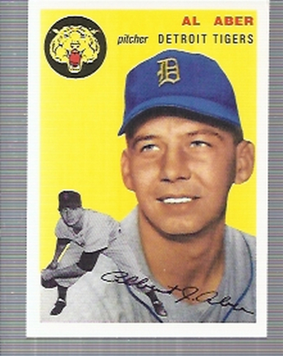 Photo of 1994 Topps Archives '54 #238 Al Aber