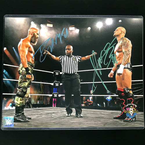 Photo of Tommaso Ciampa and Karrion Kross SIGNED In Your House 2020 11x14 Photo (Random Number)