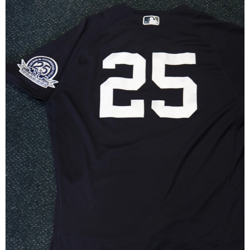 Photo of 2020 Game-Used Spring Training Jersey - Gleyber Torres #25 - Size 44