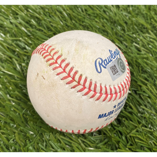 Photo of Christian Yelich Single Baseball - 5/29/21