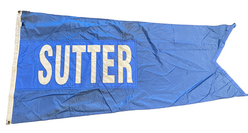 Photo of Wrigley Field Collection -- Rooftop Flag --  Bruce Sutter