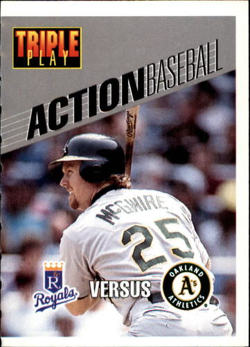 Photo of 1993 Triple Play Action #23 Mark McGwire