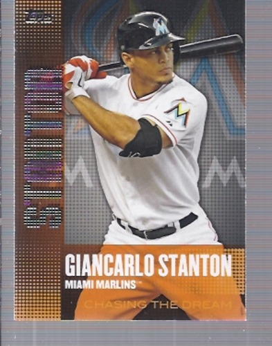Photo of 2013 Topps Chasing the Dream #CD10 Giancarlo Stanton