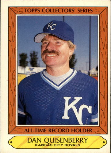 Photo of 1985 Woolworth's Topps #28 Dan Quisenberry