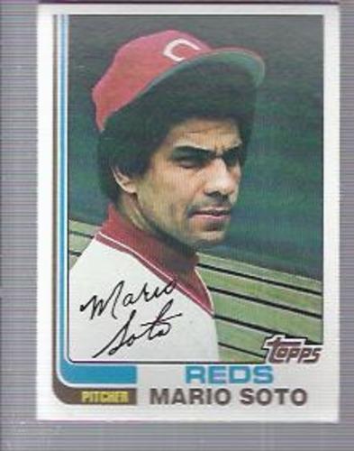 Photo of 1982 Topps #63 Mario Soto