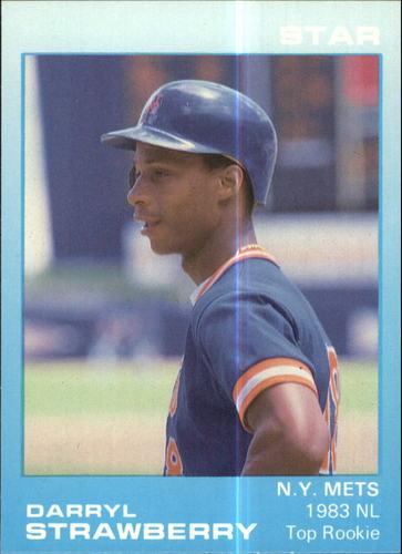Photo of 1988 Star Strawberry Glossy #8 Darryl Strawberry/1983 NL Top Rookie