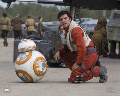 BB-8 and Poe Dameron