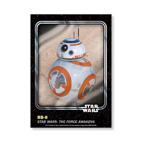 BB-8 2016 Star Wars Card Trader Base Poster - # to 99
