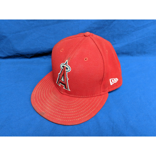 Photo of Mike Trout 2017 Team-Issued Cap