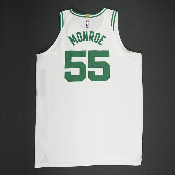 Greg Monroe - Boston Celtics - 2018 NBA Playoffs Game-Worn Jersey ...