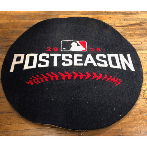 Photo of 2016 NLDS Game-Used On-Deck Circle - Cubs Side Used During Games 3 & 5