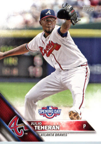Photo of 2016 Topps Opening Day #OD35 Julio Teheran