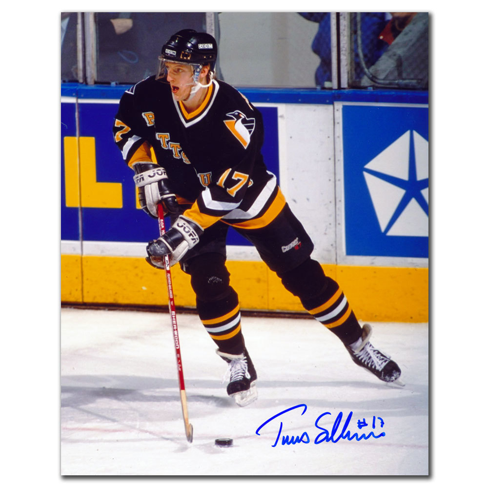 Tomas Sandstrom Pittsburgh Penguins RUSH Autographed 8x10