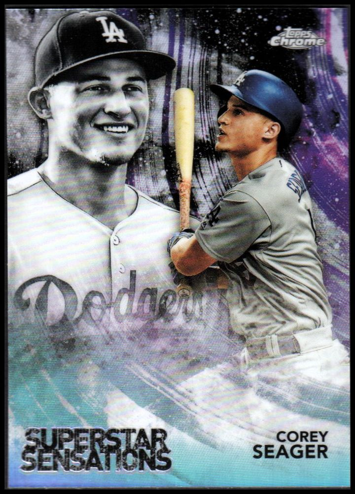 2018 Topps Chrome Superstar Sensations Refractors #SS5 Corey Seager