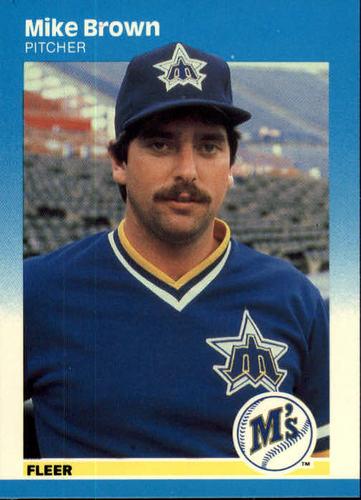 Photo of 1987 Fleer #583 Mike G. Brown