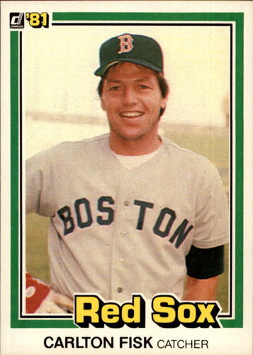 Photo of 1981 Donruss #335 Carlton Fisk