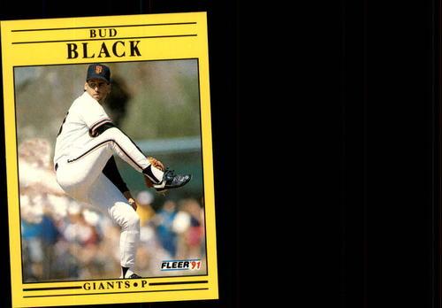 Photo of 1991 Fleer Update #128 Bud Black