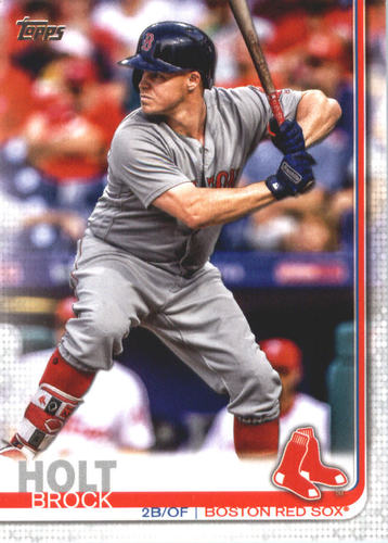 Photo of 2019 Topps #546 Brock Holt