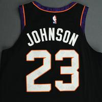 Cameron Johnson - Phoenix Suns - Game-Worn City Edition Jersey - Scored Career-High 21 Points - 2019-20 NBA Season