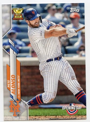 Photo of 2020 Topps Opening Day #157 Pete Alonso