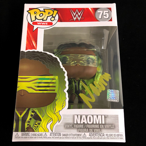 Photo of Naomi SIGNED POP! Vinyl Figure