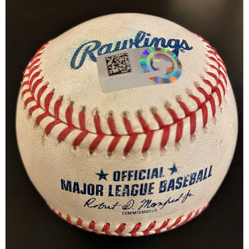 Photo of Rony Garcia MLB Debut Game-Pitched Baseball (MLB AUTHENTICATED)