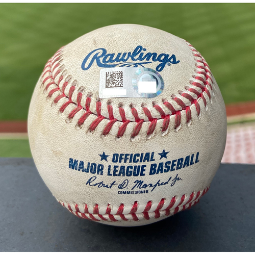 Photo of Cardinals Authentics: Game Used Baseball Pitched by Genesis Cabrera to Jeimer Candelario *Home Run*