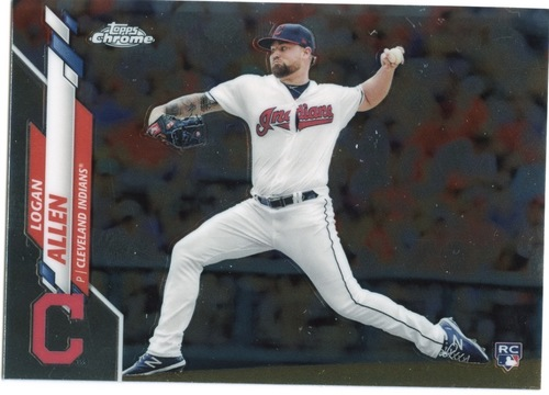 Photo of 2020 Topps Chrome #155 Logan Allen RC
