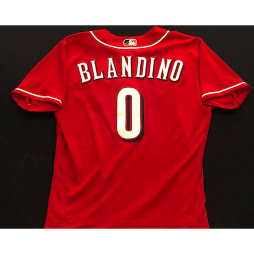 Alex Blandino -- 2020 Spring Training Jersey -- Team-Issued -- Size 44