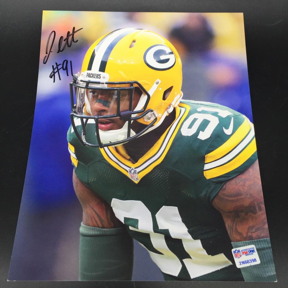 PCF - Packers Jayrone Elliott Signed 8x10 Photo