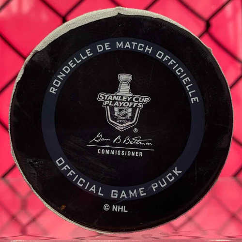 Joel Armia (2) Game 5 Goal Puck (A: Perry/Staal)