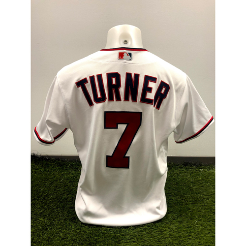 Photo of Trea Turner Game-Used Jersey - 5/5/21