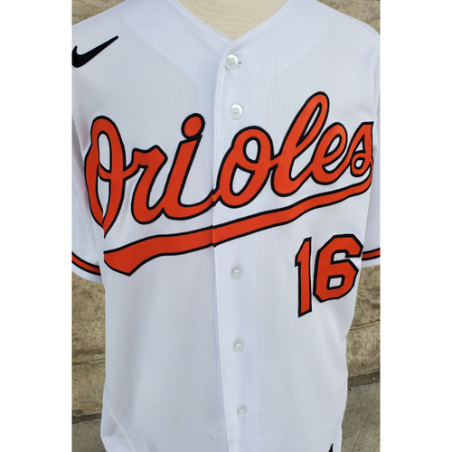 Photo of Trey Mancini: Jersey - Game Used (9/28/21 vs. Red Sox)