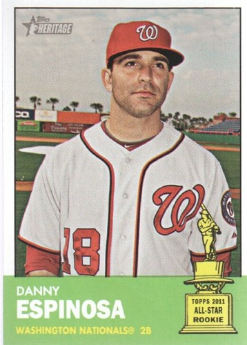 Photo of 2012 Topps Heritage #351 Danny Espinosa