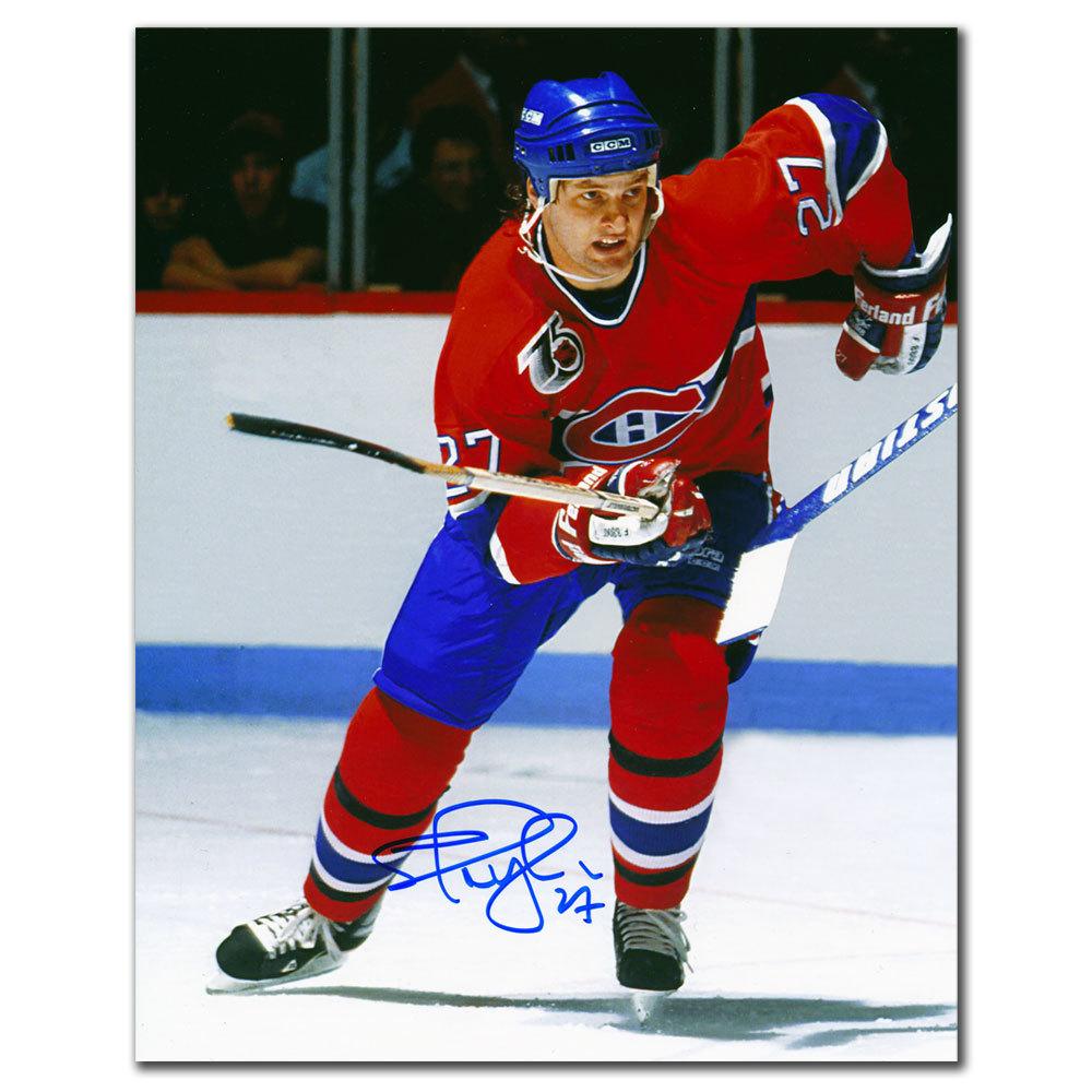 Shayne Corson Montreal Canadiens BREAKOUT Autographed 8x10
