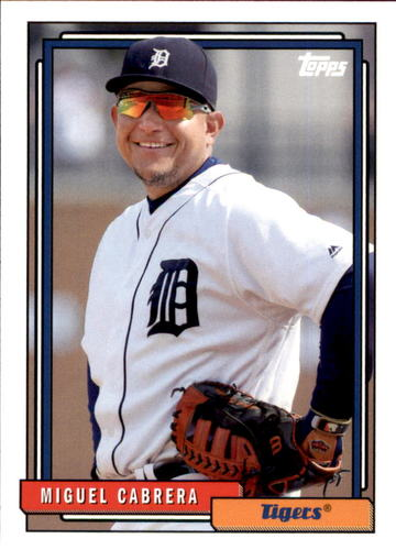 Photo of 2017 Topps Archives #297 Miguel Cabrera