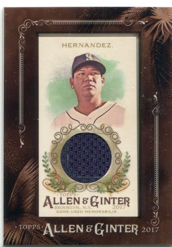 Photo of 2017 Topps Allen and Ginter Framed Mini Relics Felix Hernandez Jersey