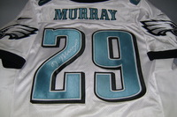 EAGLES - DEMARCO MURRAY SIGNED EAGLES AUTHENTIC JERSEY - SIZE 48