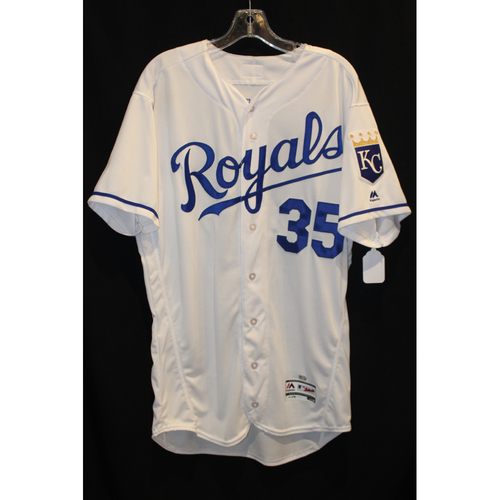 Game-Used Jersey: Eric Hosmer (Size 46 - STL at KC - 8/7/17)