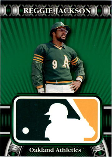 Photo of 2010 Topps Logoman HTA #20 Reggie Jackson