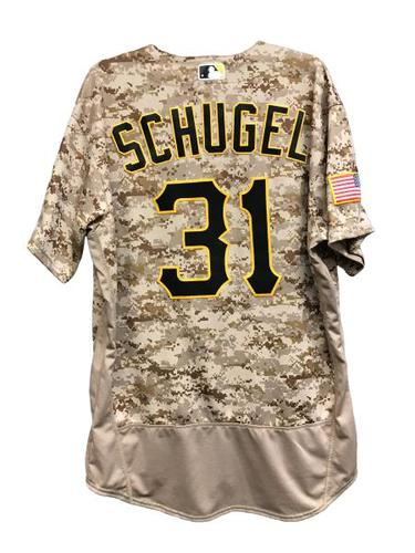 Photo of AJ Schugel Game-Used Jersey