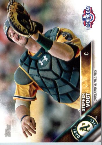 Photo of 2016 Topps Opening Day #OD37 Stephen Vogt