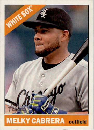 Photo of 2015 Topps Heritage #2 Melky Cabrera