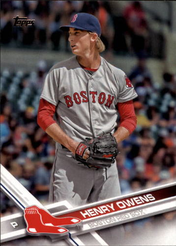 Photo of 2017 Topps #69 Henry Owens