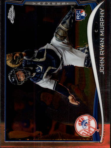 Photo of 2014 Topps Chrome #69 John Ryan Murphy Rookie Card
