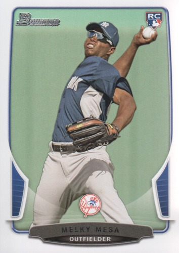 Photo of 2013 Bowman #220 Melky Mesa RC