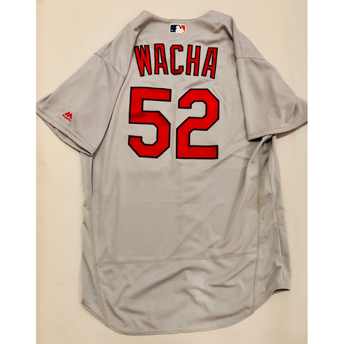 Photo of 2019 Mexico Series Game Used Jersey - Michael Wacha Size 48 (St. Louis Cardinals)