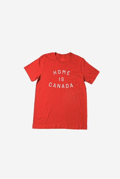 Toronto Blue Jays Red Home is Canada T-Shirt by Peace Collective